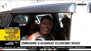 Outrage over Mnangagwa's government as Zimbabwe economy drops