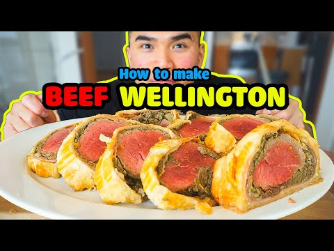 How to make a BEEF WELLINGTON