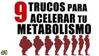 9 trucos clave para acelerar tu metabolismo (parte 1)