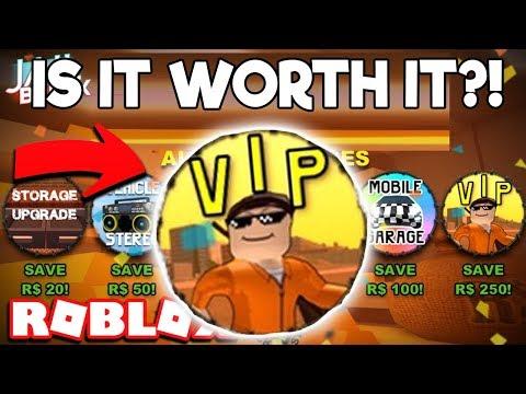 IS THE JAILBREAK VIP GAMEPASS SALE WORTH BUYING? (Roblox Jailbreak)