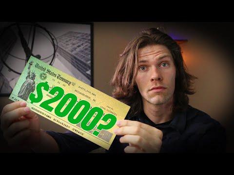 $2000 stimulus check - FunClipTV