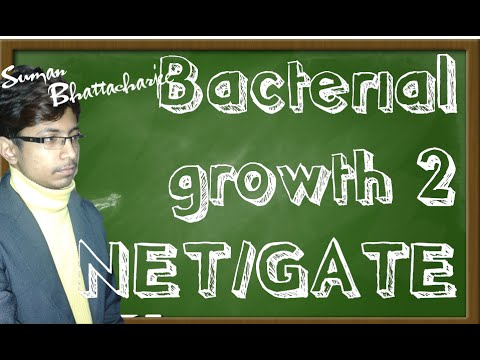 Microbial growth kinetics problem 2   CSIR UGC NET exam papers  practice problems