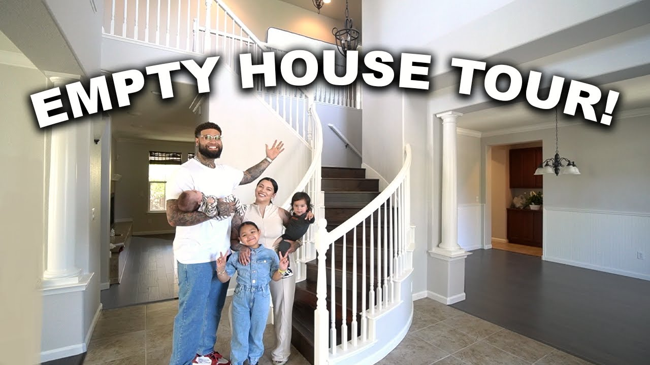 OUR BRAND NEW EMPTY HOUSE TOUR!