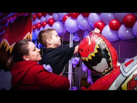 THEO 5th Birthday – Power Rangers Party