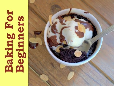 2-Minute Eggless Microwave Chocolate Fudge Brownies