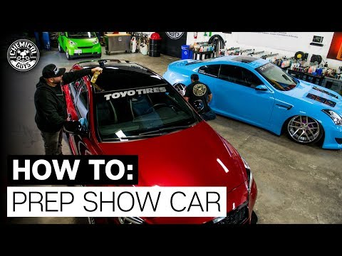 How To Prep Show Car: Quick Cleaning Tips! - Modified Infiniti G35 & QX30 - Chemical Guys