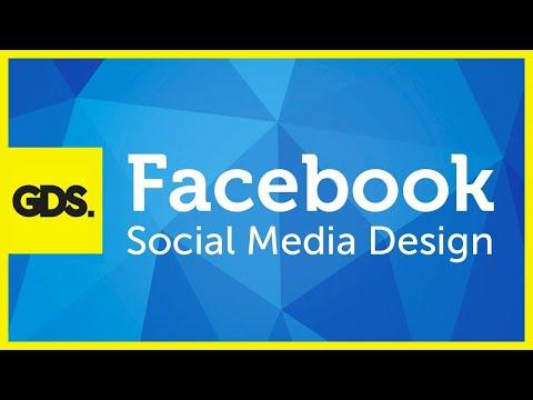 Facebook social media design in Photoshop