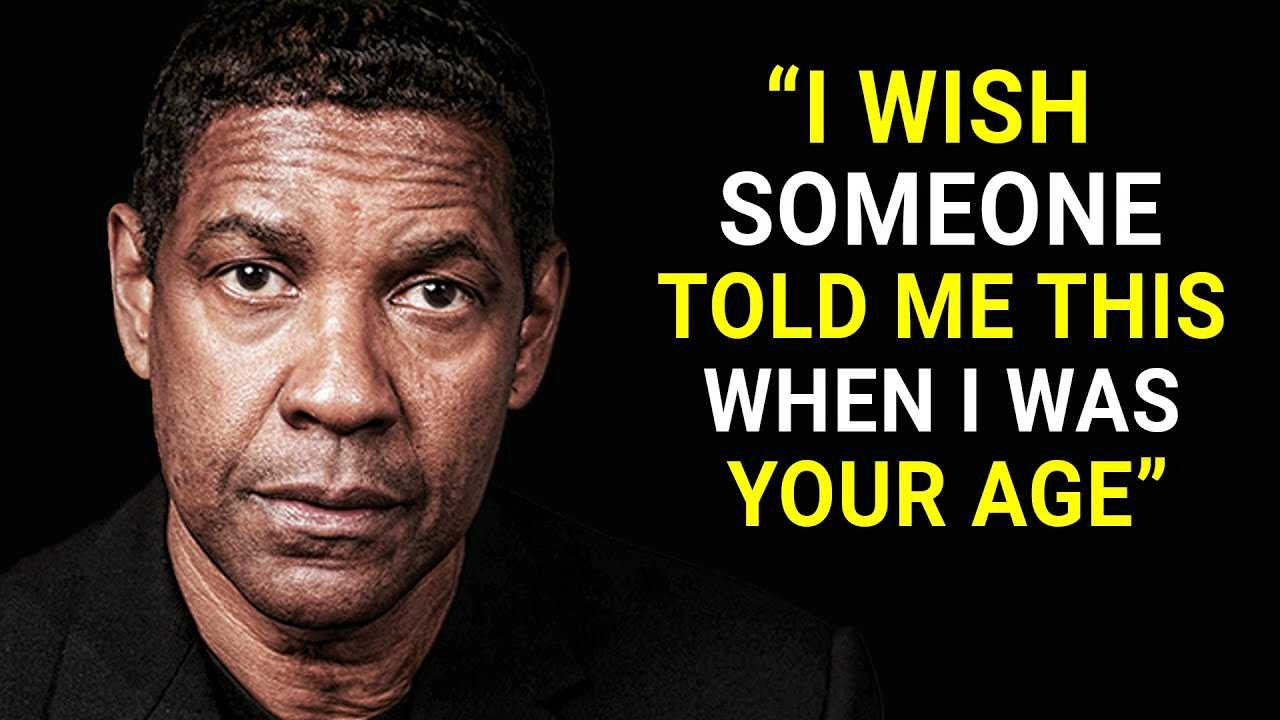 Denzel Washington's Life Advice Will Leave You Speechless (MUST WATCH)