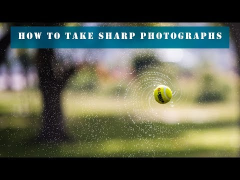 How to take sharp photographs | DSLR Learning in Hindi