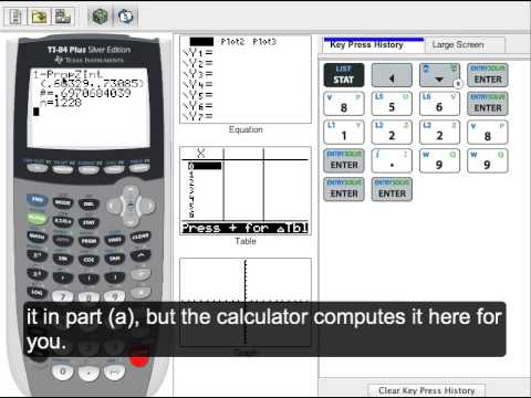 TI-83/84 - 1PropZInt: Estimating Proportion with a Confidence Interval