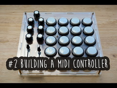 #2 - Building a MIDI controller with an Arduino (in fast forward)