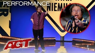 ALL of Ryan Niemiller's HILARIOUS Stand Up Sets On AGT - America's Got Talent 2019
