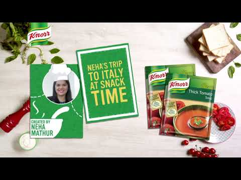 Knorr Tomato Soup - Neha's Trip To Italy At Snack Time #MeraSoupSnack #Knorr
