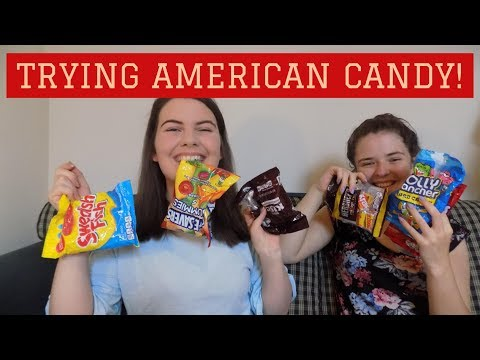IRISH SISTERS TRY AMERICAN CANDY!