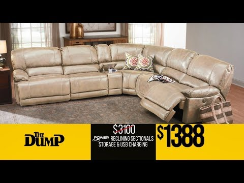 Dumping 25,000 Recliners Up To 70% Off in Philly & Virginia