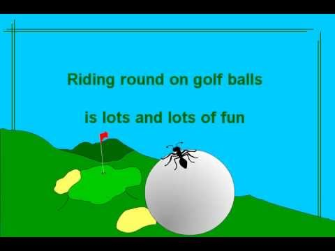 Riding Round On Golf Balls - A funny song by Bob Brown