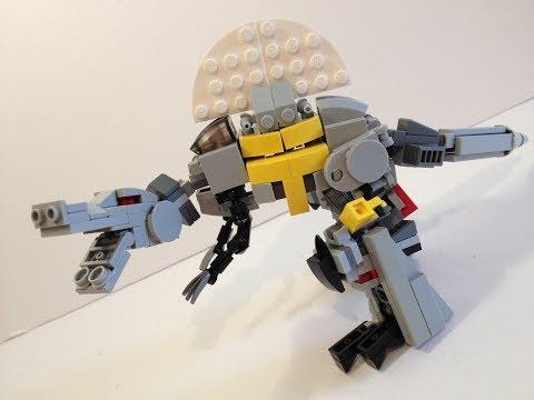 Lego Transformers G1 Dinobot Scorn (Video Review)