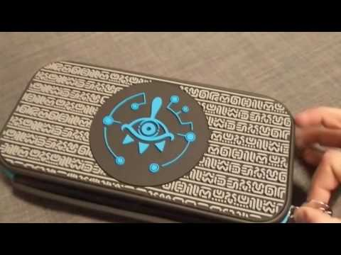 Zelda Sheikah Eye Edition Nintendo Switch Starter Kit