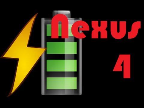 Nexus 4 how to get better battery life