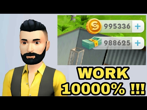 The Sims Mobile Cheats, Mod Money, Cash, Coins, simeleons 2017 10000% Work and hack
