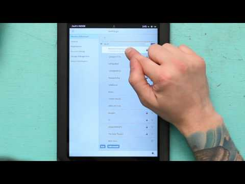 How to Reset NOOK Wi-Fi : NOOK Tips