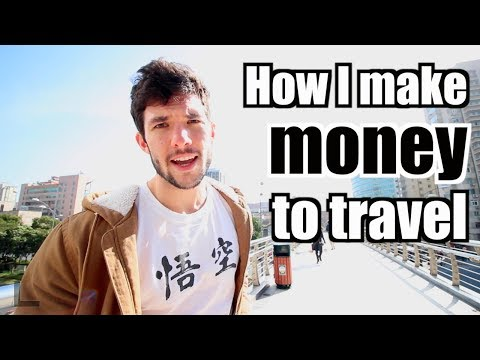 How I Make Money To Travel and Live Abroad (+YouTube Adsense Secret)
