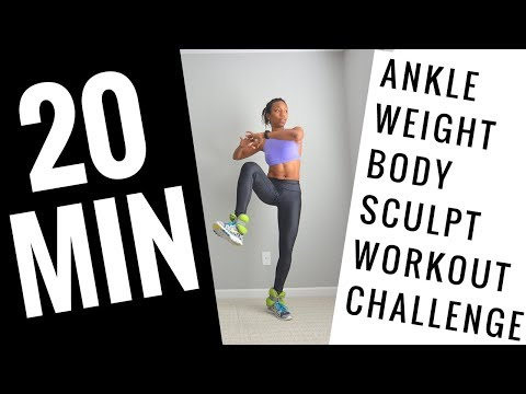 20MIN: Ankle Weight Leg and BUTT Buster Workout!