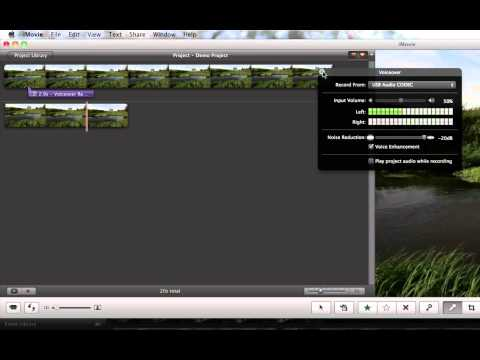 Mono to Stereo Audio in iMovie - How To Tutorial