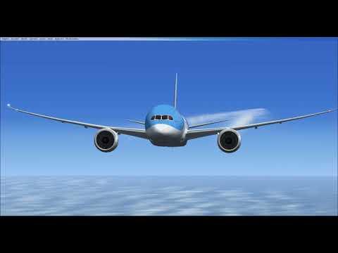 FSX Thomson/TUI 787-8 Manchester to Cancun