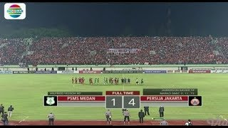 PSMS MEDAN (1) vs PERSIJA (4) - Highlight Semifinal Piala Presiden 2018