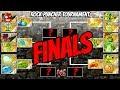 Jurassic Rock Puncher Tournament Finale   Plants vs Zombies 2 Epic MOD