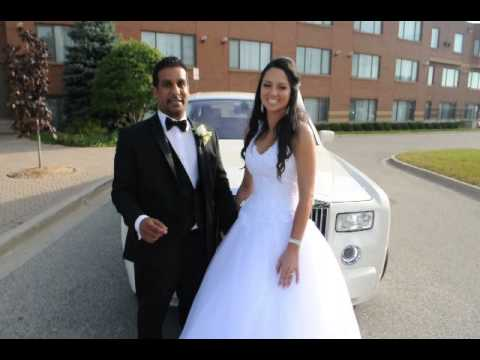 RSVP Luxury Limousines Toronto's Rolls Royce Phantom Wedding Service