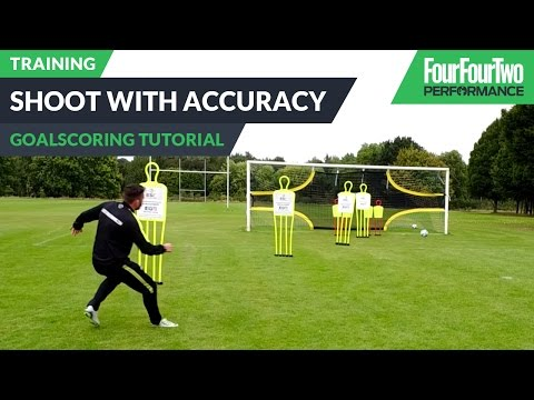 How to shoot with accuracy   Pro soccer tips