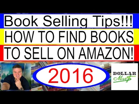 How To Find Books To Resell On Amazon FBA! | Book Selling Tips 2016!