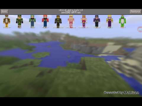 More skin pack mod [0.11.0] 13] minecraft