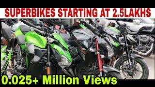 USED BIKE MARKET | SARASWATI MOTORS | KAROL BAGH BIKE MARKET | KTM , KAWASAKI , HAYABUSA.