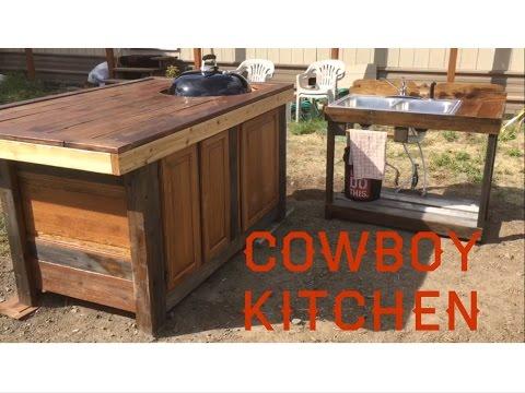 Cowboy Kitchen | Outdoor Kitchen Grill Station