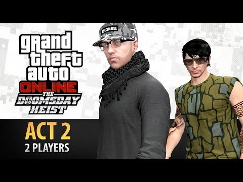 GTA Online: Doomsday Heist Act #2 with 2 Players (Elite & Criminal Mastermind II)