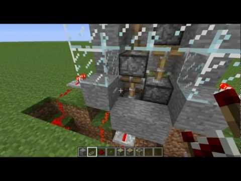 Minecraft how to fix/make a piston elevator (1.4.2)