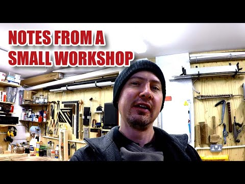 Notes from a Small Workshop #2 - YouTube Moan, Patreon Update, Joinery Vlog Jan 2018 [94]