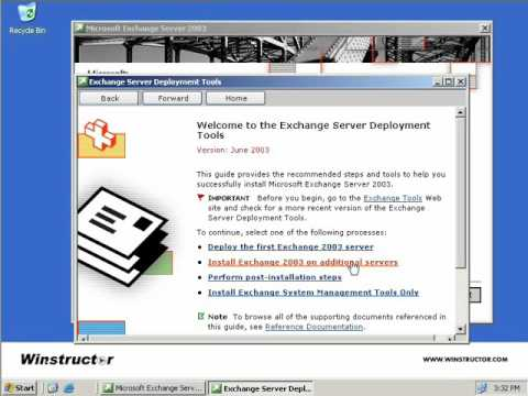 04 Removing an Exchange Server from an Organization  Exchange Server 2003