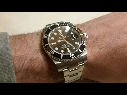 Rolex Submariner Home Restoration, Polish, Scratch Removal