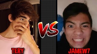 TERY VS JAMEW7 | 10 Diamond Lock Set Challenge | Growtopia
