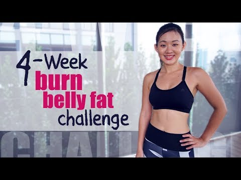 4-Week BURN Belly Fat Challenge | Joanna Soh