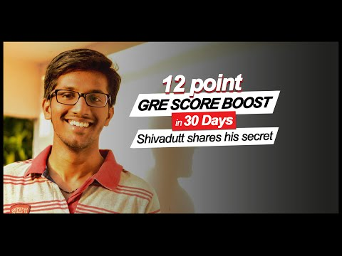 GREedge Guest Seminar- 12 point score boost in 30 days: Shivadutt shares his secret
