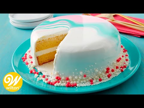 How to Make a Mirror Glaze Cake