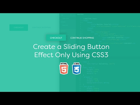 Create a Sliding Button Effect Only Using CSS3  - Code Tutorial