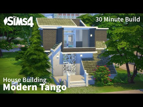 Modern Tango | The Sims 4 House Building (30-min build)