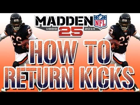 Madden NFL 25 Kick Return Touchdown Tips & Tricks