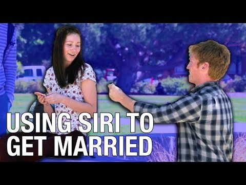 HOW TO GET MARRIED USING SIRI
